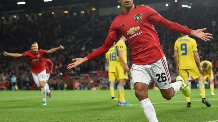 Manchester United vs Astana 1-0