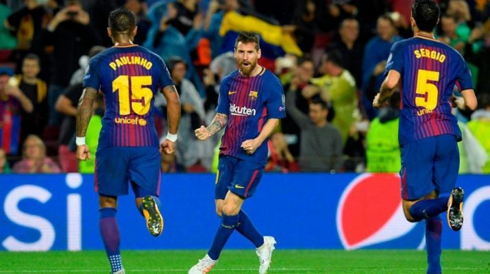 Diwarnai 2 kartu merah Barcelona bantai Sevilla 4-0
