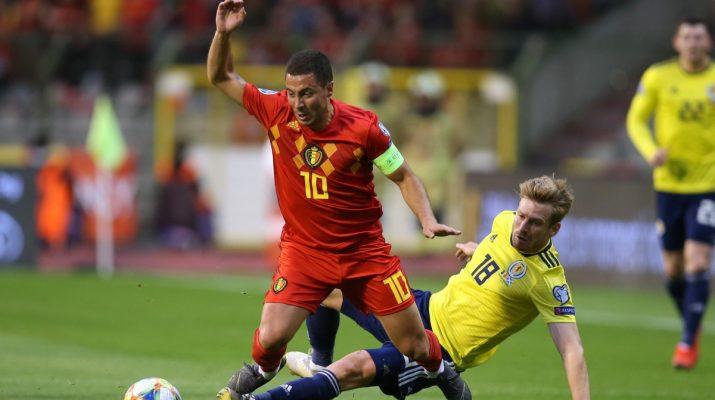 Belgia Bungkam Skotlandia 3-0