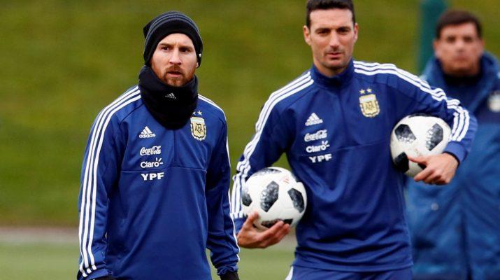 Lionel Scaloni & Lionel Messi