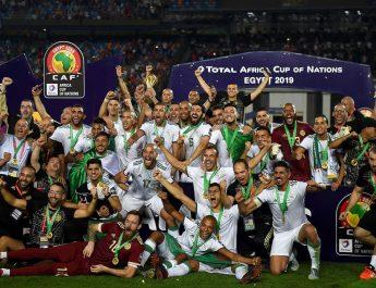Aljazair Juara Piala Afrika 2019