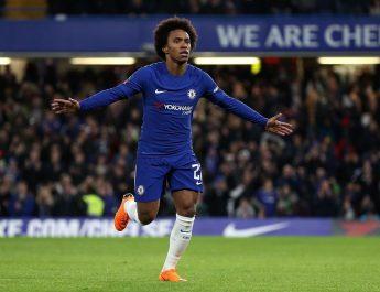 Dilirik Barca, Willian Ingin Bertahan di Chelsea