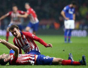 Atletico Madrid Vs Atletico Bilbao 2-0