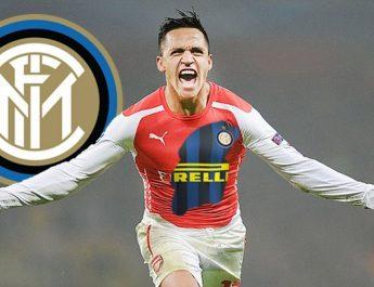 Alexis Sanchez ke Inter Milan