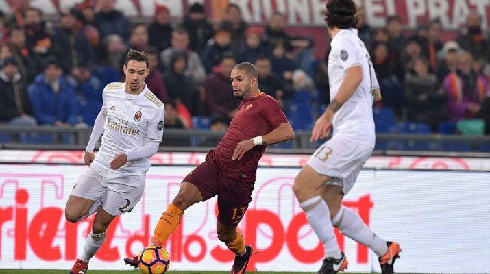 AC Milan Tumbang di Roma