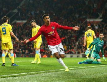 Bertandang ke Astana Arena, di laga lanjutan Liga Eropa, Manchester United kalah 2-1