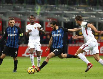 Inter Milan Ditahan Imbang AS Roma Tanpa Gol di Giuseppe Meazza