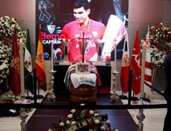 Jose Antonio Reyes disemayamkan