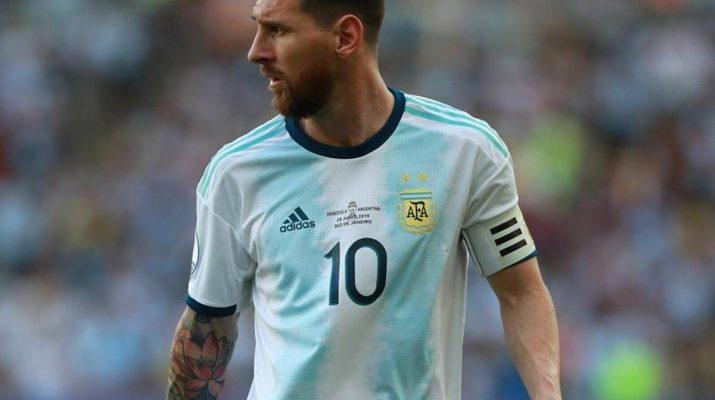 Sang Alien, Lionel Messi