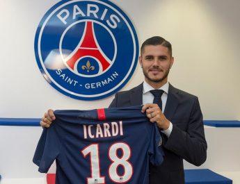 Mauro Icardi gabung ke PSG