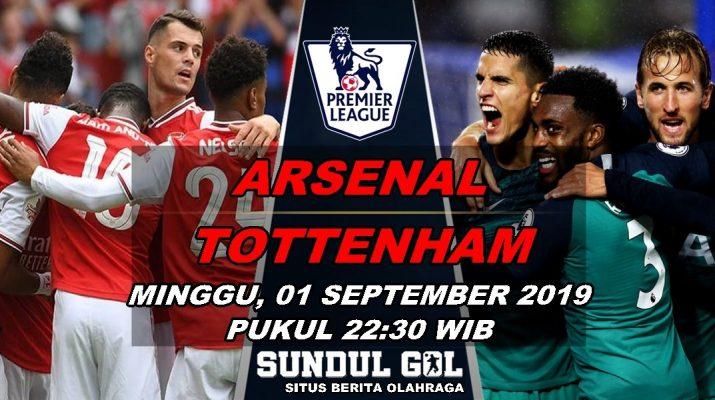 Prediksi Skor Arsenal Vs Tottenham Hotspur