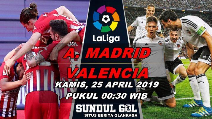 Prediksi Bola Atletico Madrid Vs Valencia