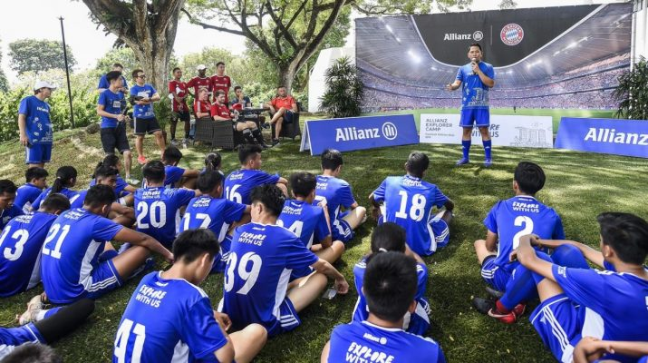 Allianz Explorer Camp Football