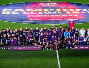 Barcelona Juara La Liga