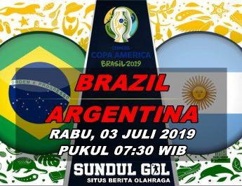PREDIKSI SKOR BRAZIL VS ARGENTINA