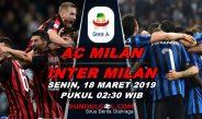 Prediksi Bola Milan Vs Inter – 18 Maret 2019