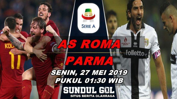 Prediksi Skor AS Roma Vs Parma