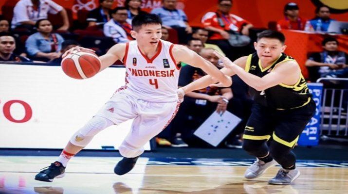 Putra Indonesia akhirnya meraih kemenangan perdana di basket 5v5 SEA Games 2019
