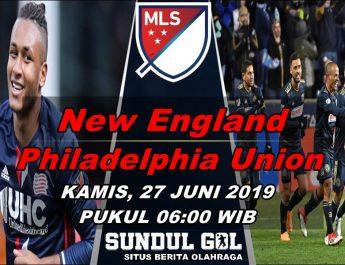 New England vs Philadelphia Union