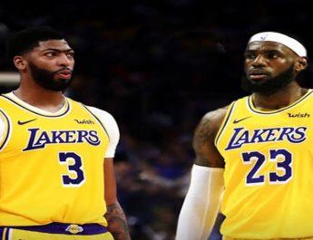 Duo Anthony Davis dan LeBron James